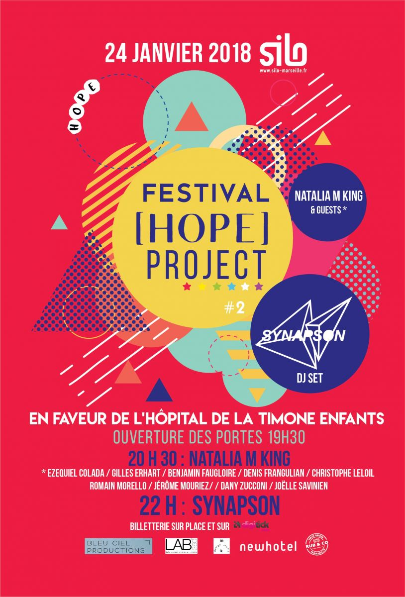 Affiche Festival [HOPE] PROJECT #2